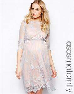 robe mi longue grossesse dentelle habillee la robe longue With robe mi longue habillée