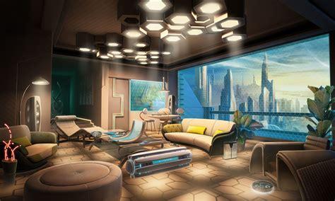 condo apartment modern furniture livingroom art