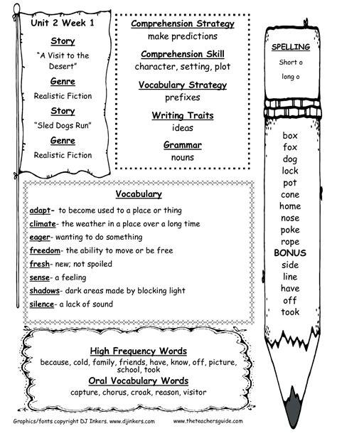 unit  week   grade  arnold elementary