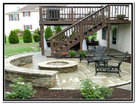 awesome patio deck 4 deck paver patio designs
