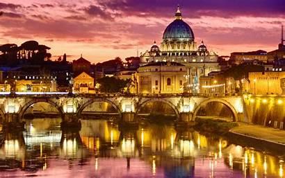 Rome Italy Ancient Night Wallpapers Beauty History