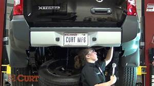 Trailer Hitch Installation Curt 13514 For 2005