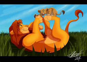 Simba And Kiara by Elbel1000 on DeviantArt