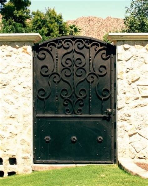 patio by colletti design iron doors gates and fences