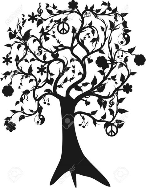 tree of designs 70 sketches tree of tattoos drawings golfian