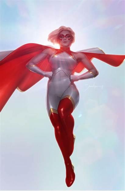 Marvel Lee Comics Jeehyung Thompson Kelly Captain