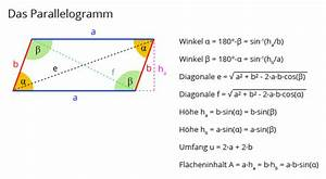 Diagonale Dreieck Berechnen : geo07 parallelogramm matheretter ~ Themetempest.com Abrechnung