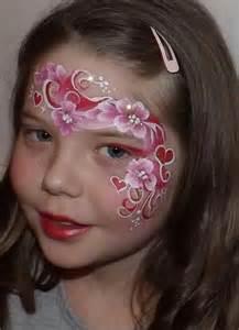 Valentine's Face Painting Design