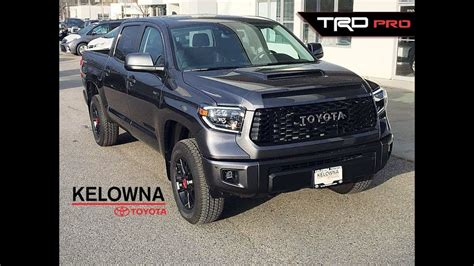 toyota tundra trd pro magnetic grey youtube