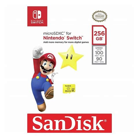 We did not find results for: SanDisk 256GB Nintendo Licensed Micro SD Card SDXC UHS-I TF Memory Card For Nintendo Switch