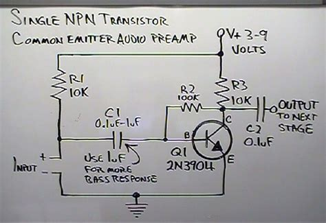 Brainwagon More Dino Simple Common Emitter Amplifier