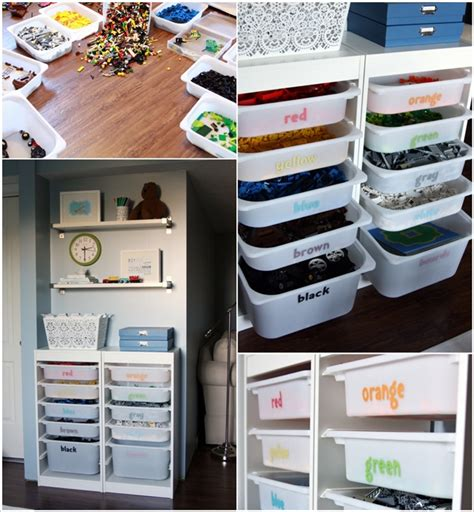 clever kids playroom organization hacks  ideas