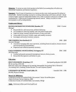 10 entry level resume examples sample templates With entry level accounting resume