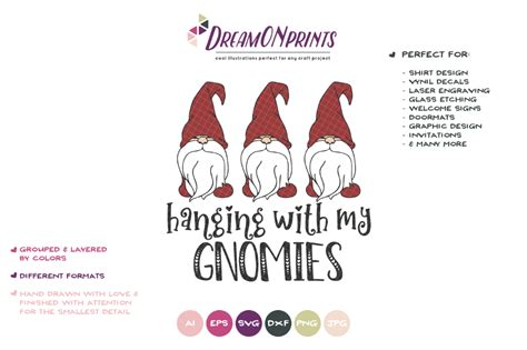 If you'd like to help me keep this site free, please consider paying a small amount for your downloads. Christmas Gnomes SVG - Hanging with My Gnomies SVG ...