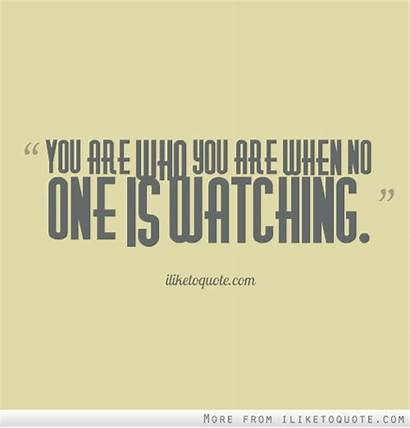 Watching Quotes Integrity
