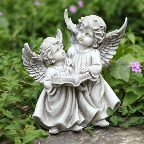 outdoor angel statues cherubs garden statue indoor outdoor figurine ebay