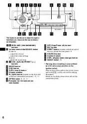 sony cdx fw700 operating instructions