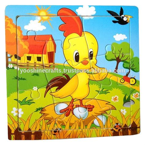 Wooden Tiger Puzzles,12 Animals (chinese Zodiac) Puzzles ...