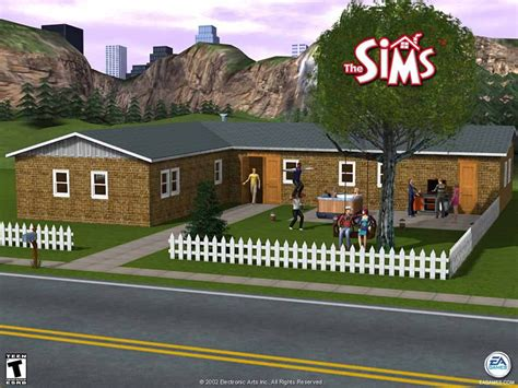 Image Sims House 1 The Sims Wiki Fandom Powered