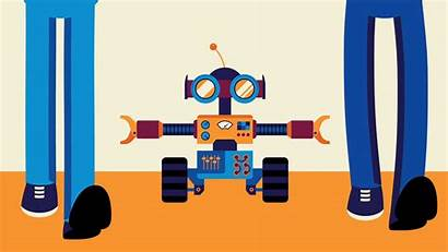Social Distancing Robot Fi Sci Maryland Interaction