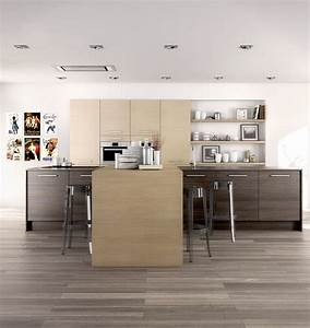 quel revetement de sol choisir pour une cuisine moderne With parquet stratifié dans cuisine