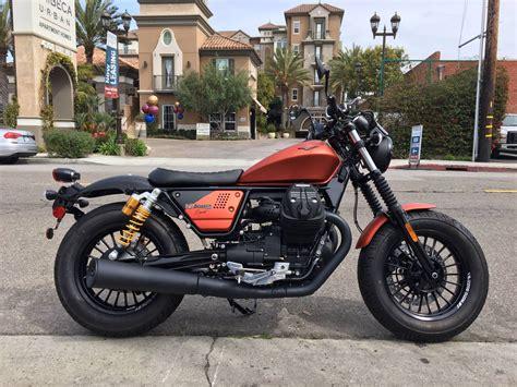 Moto Guzzi V9 Bobber 2019 by 2019 Moto Guzzi V9 Bobber Sport Motorcycles Marina