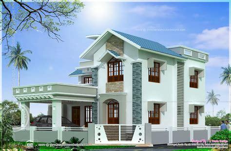 beautiful square feet house elevation kerala home design floor plans