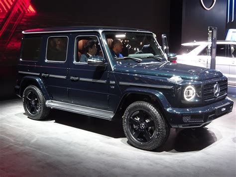 2019 Mercedes G-class Loses 375 Lbs., Has Steel Body