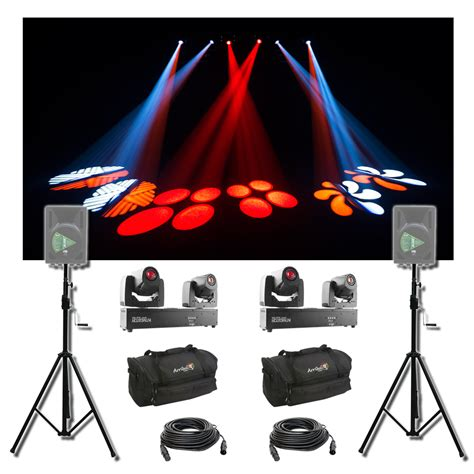 dj lighting packages 2 chauvet dj lighting intimidator spot duo 155 moving
