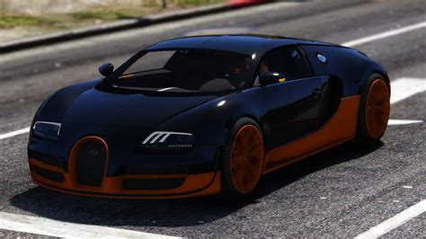 gta v bugatti veyron supersport mod