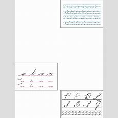 Download Lessons For Cursive Handwriting Template Example For Free  Page 7 Formtemplate