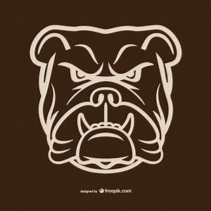 French Bulldog Face Outline