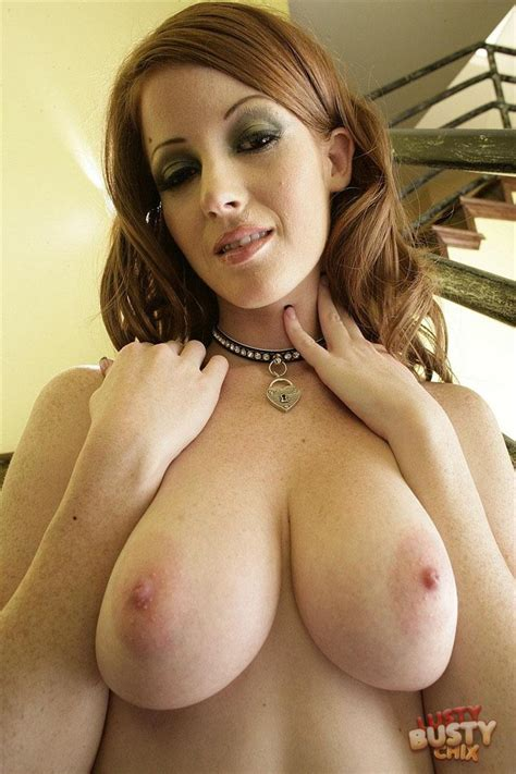 Nikki Coxxx Busty Redhead Gets Some Big Cock 21sextury