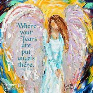 Put angels ther... Contemporary Impressionists Quotes