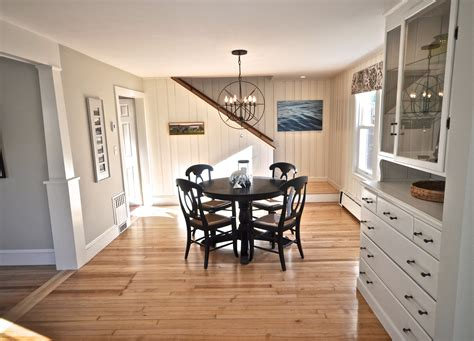 Sopo Cottage Dining Room And Foyer Before And After