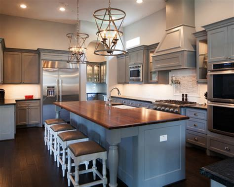 Countertop Ideas For Gray Kitchen Cabinets
