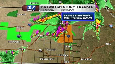 Severe Thunderstorm Watch for Northern Four States - KOAM