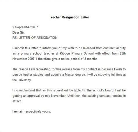 resignation letter template word 69 resignation letter template word pdf ipages free