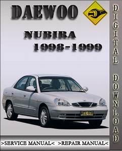 1998-1999 Daewoo Nubira Factory Service Repair Manual