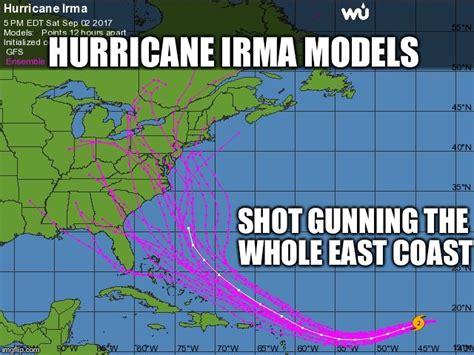 Hurricane Memes - hurricane forecasting accuracy imgflip