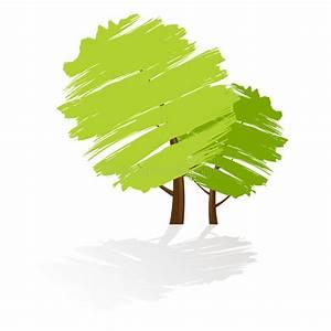 Green Tree Icon Stock Photography - Image: 5095832