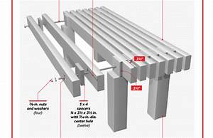 Build This Wooden Garden Bench - Woodwork City Free