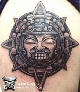 Aztec Sun Tattoo » ₪ AZTEC TATTOOS ₪ Aztec Mayan Inca ...