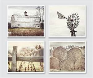 Farmhouse decor country rustic wall art barn