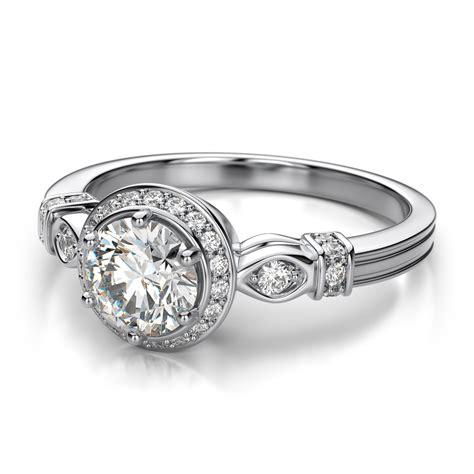 Women White Gold Wedding Ring Designs 2017 Trends