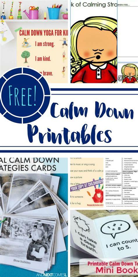 calm  printables  add   calming corner