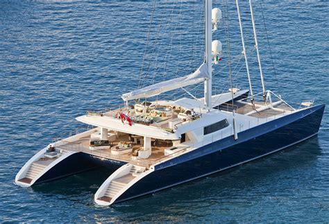 Largest Catamaran Yacht catamaran hemisphere the world s largest sailing