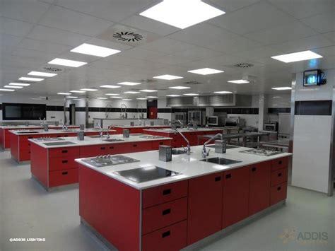 ecole cuisine eclairage led d 39 une école de cuisine addis lighting