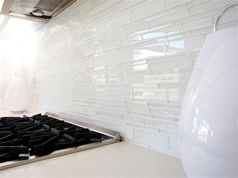 glass tiles for kitchen backsplashes white glass tile backsplash kitchen midcentury with