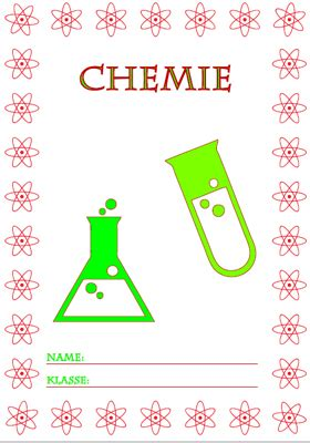 deckblatt chemie ausdrucken